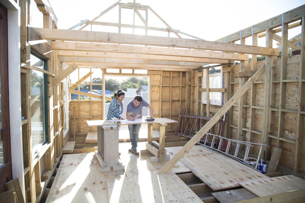 Constructie casă de lemn