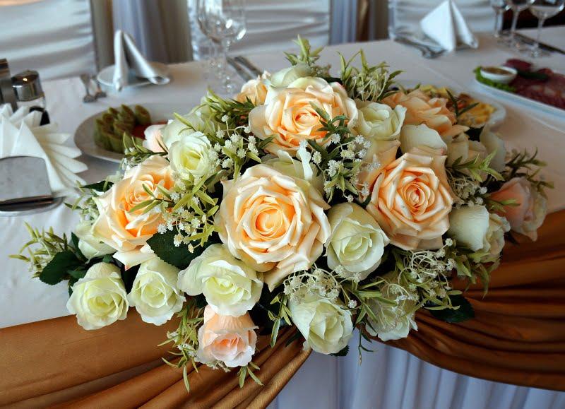 Buchet de flori artificiale pentru nunți
