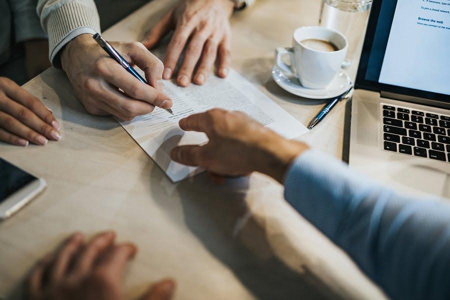 Semnarea contractului de inchiriere