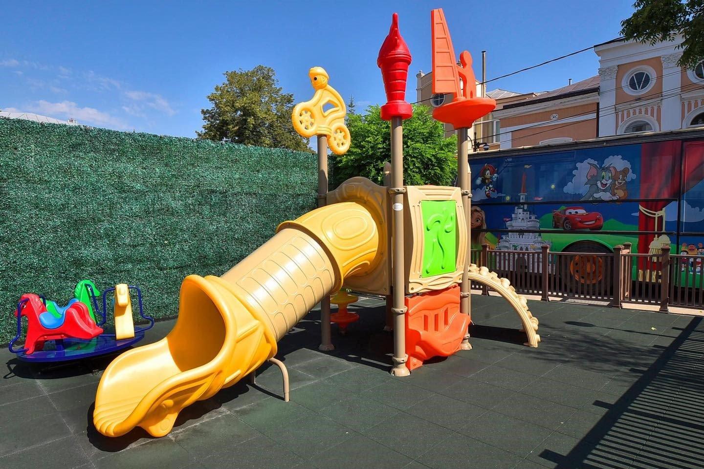 Loc de joacă pentru copii de la Waterboyz