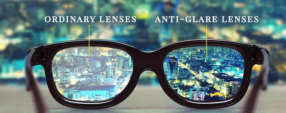 Ochelari cu lentile antireflex