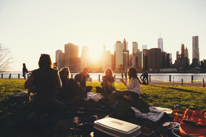Socializare in aer liber